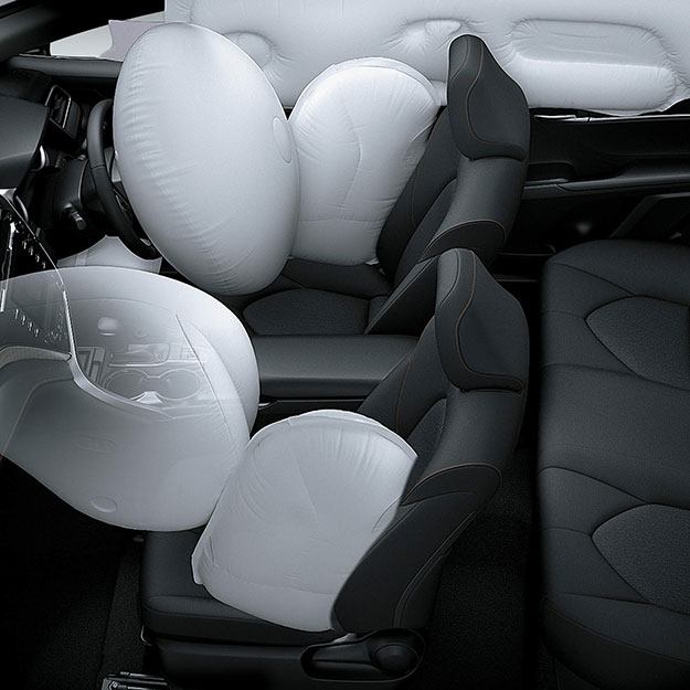 7 SRS Airbags