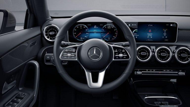 Leather Multifunction Sports Steering Wheel